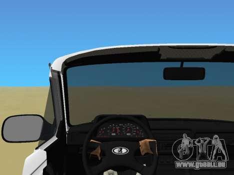 Lada Urban pour GTA Vice City sur la vue arrière gauche