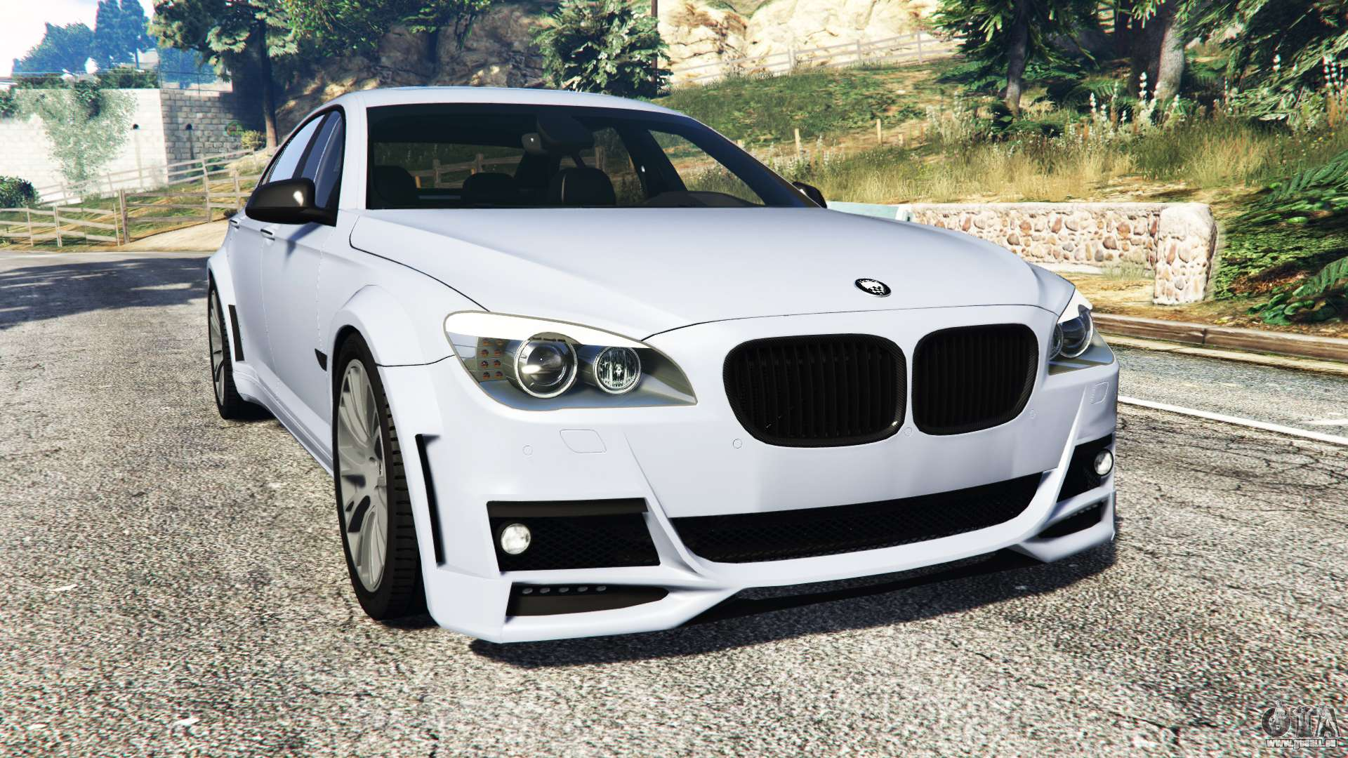 BMW 760Li F02 Lumma CLR 750 Replace Fur GTA 5
