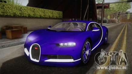 Bugatti Chiron 2017 v2.0 für GTA San Andreas