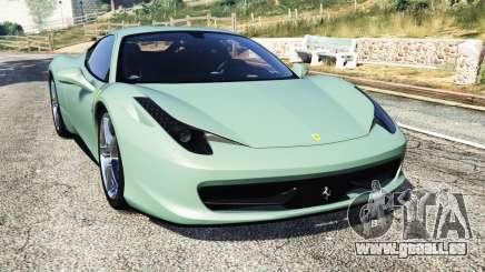 Ferrari 458 Italia [replace] pour GTA 5