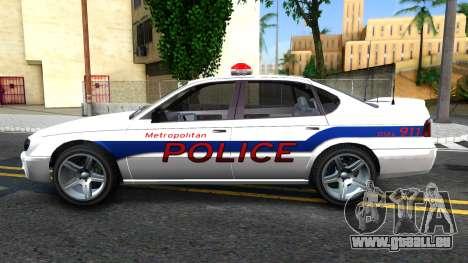 Declasse Merit Metropolitan Police 2005 für GTA San Andreas linke Ansicht
