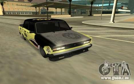 CHASSEUR 2105 DÉRIVE, ÉDITION pour GTA San Andreas