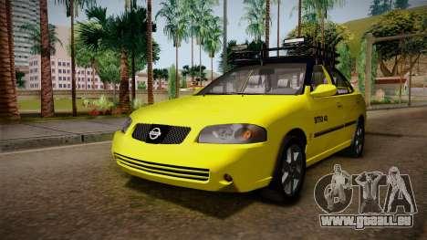 Nissan Sentra Taxi für GTA San Andreas