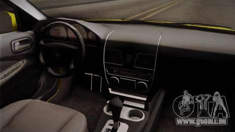 Nissan Sentra Taxi für GTA San Andreas Innenansicht