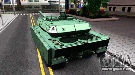 Leopard 2A7 für GTA San Andreas rechten Ansicht