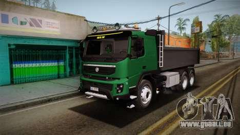 Volvo FMX dump Truck pour GTA San Andreas