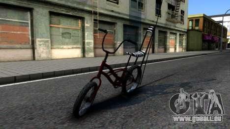 GTA SA Bike Enhance für GTA San Andreas linke Ansicht