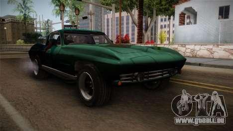 Chevrolet Corvette Coupe 1964 für GTA San Andreas rechten Ansicht