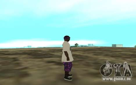 The Ballas 3 für GTA San Andreas zweiten Screenshot