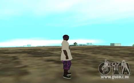 The Ballas 3 pour GTA San Andreas deuxième écran