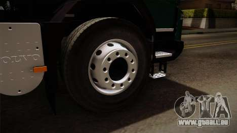 Volvo FMX-dump Truck für GTA San Andreas Rückansicht