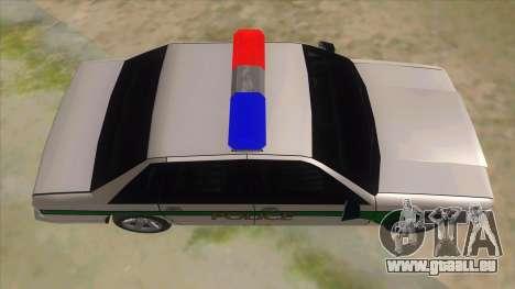 1992 Declasse Premier Angel Pine PD pour GTA San Andreas vue intérieure