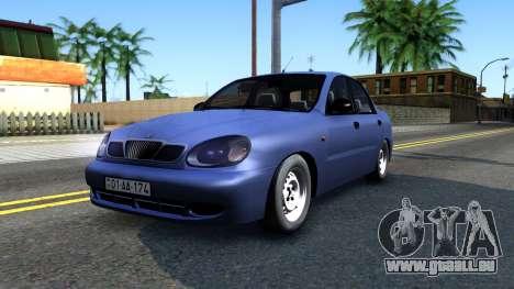 Daewoo Lanos pour GTA San Andreas