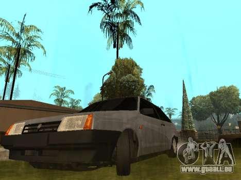 VAZ 2108 BPAN für GTA San Andreas Innenansicht
