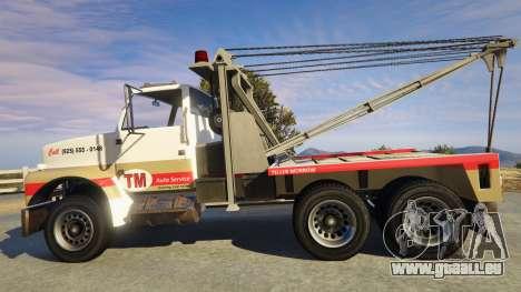 GTA 5 Teller-Morrow Towtruck from SOA linke Seitenansicht