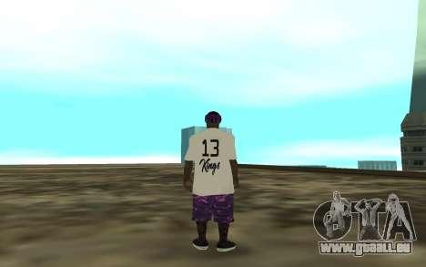 The Ballas 3 pour GTA San Andreas troisième écran