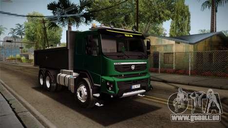 Volvo FMX-dump Truck für GTA San Andreas rechten Ansicht