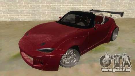 Mazda MX-5 2016 pour GTA San Andreas