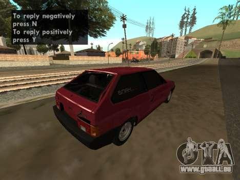 VAZ 2108 BPAN für GTA San Andreas rechten Ansicht