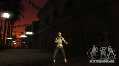 Resident Evil 6 - Shery Asia Outfit für GTA San Andreas zweiten Screenshot