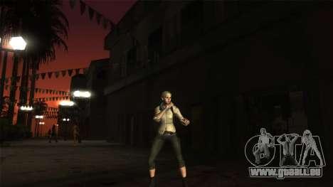 Resident Evil 6 - Shery Asia Outfit für GTA San Andreas zweiten Screenshot