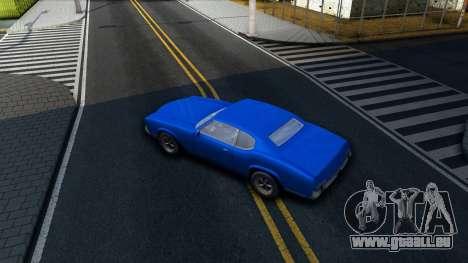 VC Xbox Sabre pour GTA San Andreas vue intérieure