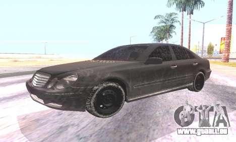 Mercedes-Benz E55 W211 AMG für GTA San Andreas