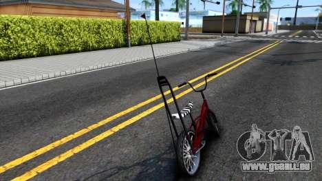 GTA SA Bike Enhance für GTA San Andreas zurück linke Ansicht