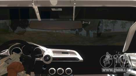 Mazda MX-5 2016 pour GTA San Andreas vue intérieure