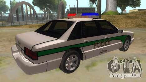 1992 Declasse Premier Angel Pine PD pour GTA San Andreas vue de droite