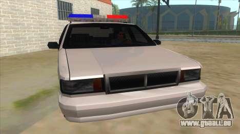 1992 Declasse Premier Angel Pine PD pour GTA San Andreas vue arrière