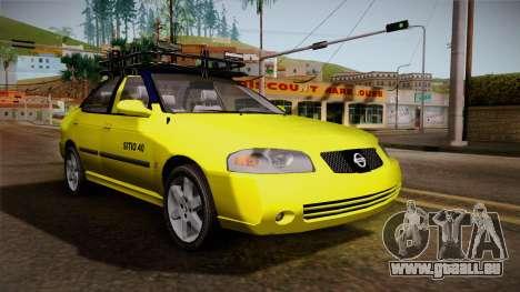 Nissan Sentra Taxi für GTA San Andreas rechten Ansicht