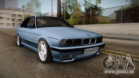BMW Série 5 E34 ЕК pour GTA San Andreas