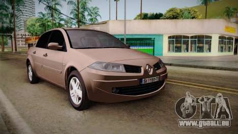 Renault Megane Sedan pour GTA San Andreas