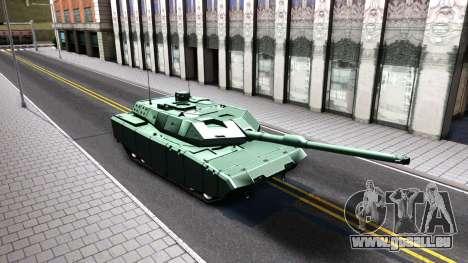 Leopard 2A7 für GTA San Andreas