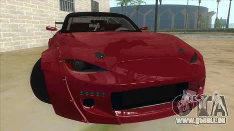 Mazda MX-5 2016 pour GTA San Andreas vue arrière