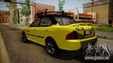Nissan Sentra Taxi für GTA San Andreas linke Ansicht
