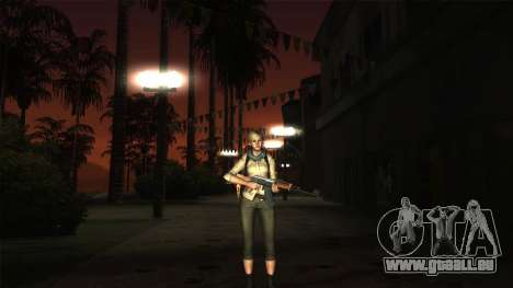 Resident Evil 6 - Shery Asia Outfit für GTA San Andreas dritten Screenshot