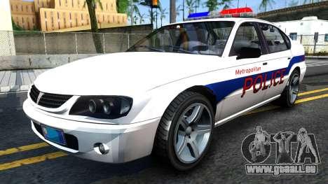 Declasse Merit Metropolitan Police 2005 für GTA San Andreas