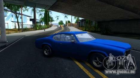 VC Xbox Sabre pour GTA San Andreas laissé vue