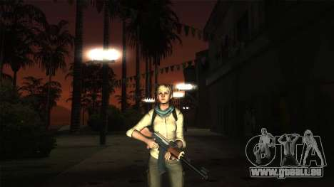 Resident Evil 6 - Shery Asia Outfit für GTA San Andreas her Screenshot