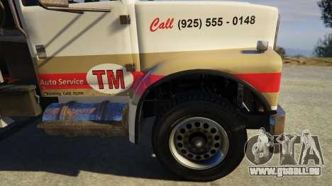 GTA 5 Teller-Morrow Towtruck from SOA hinten rechts