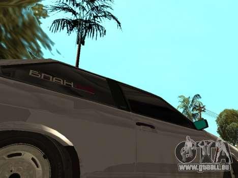 VAZ 2108 BPAN für GTA San Andreas Rückansicht