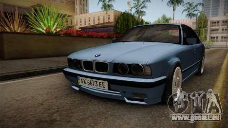 BMW Série 5 E34 ЕК pour GTA San Andreas vue de droite