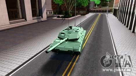 Leopard 2A7 für GTA San Andreas linke Ansicht