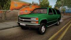 Chevrolet Suburban GMT400 1998 pour GTA San Andreas