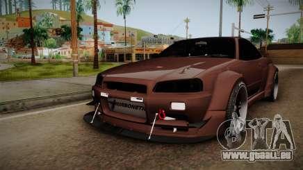 Nissan Skyline GT-R R34 Rocket Bunny pour GTA San Andreas