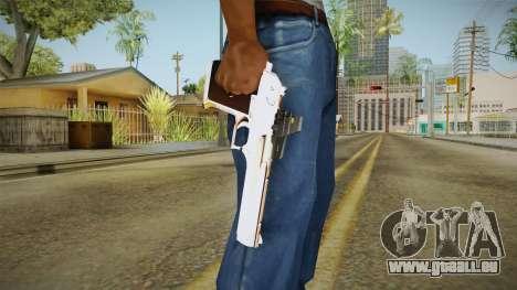Desert Eagle mit eine neue Lackierung für GTA San Andreas dritten Screenshot