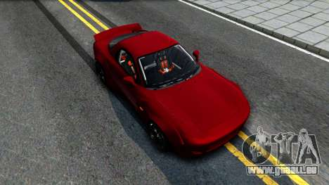 Mazda RX-7 Rocket Bunny pour GTA San Andreas vue de droite