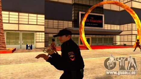 Mitglied der PPP, in die Sommer-uniform der neue für GTA San Andreas siebten Screenshot